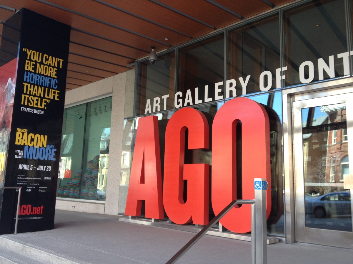 Terror and Beauty at the AGO